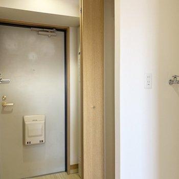 コンパクトなタイプです。(※写真は13階の同間取り別部屋のものです)