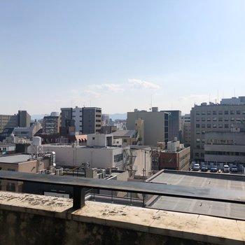 【7階】眺望ぬけてるぅー!!気持ちよくリフレッシュできそうですね