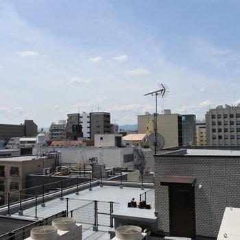 【7階】眺望ぬけてるぅー!!気持ちよくリフレッシュできそうだ。