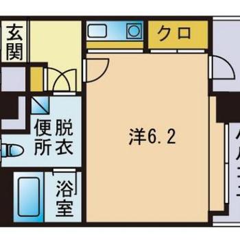 横に長いお部屋は明るいのが良いのです◎