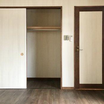 ふたりで暮らすとしたら収納は小さめかな(※写真は同間取り別部屋のものです)