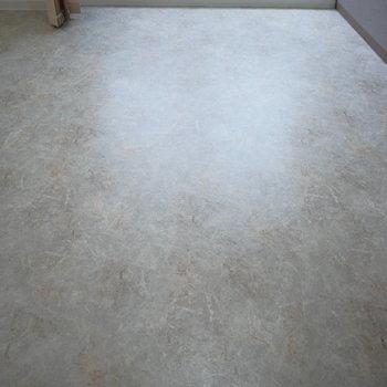 床は石目調のフロアタイルで高級感があります!