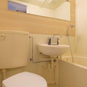 3点ユニットは清潔感バッチリ※407号室の写真です