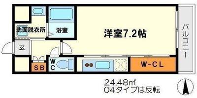 プレッツァ新大阪の間取り