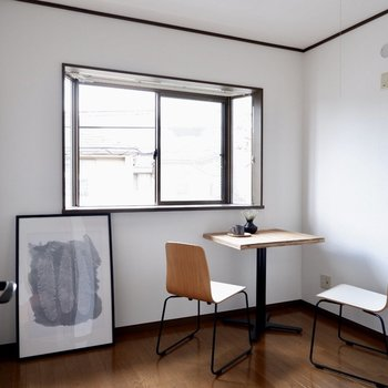 【4.5帖洋室】こちらは作業部屋に良さそうです。※家具はサンプルです