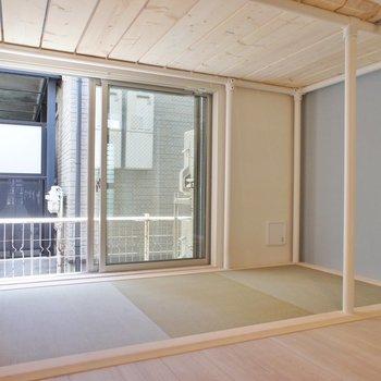 下段がtatami!※写真は1階の同間取り別部屋のものです