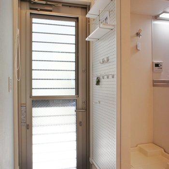玄関には ※写真は1階の同間取り別部屋のものです