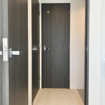 扉を開きまして、