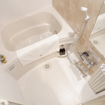 お風呂も新設しています!