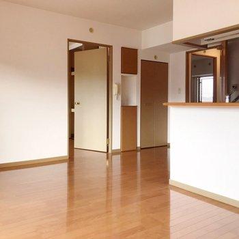 【LDK】各洋室しっかり仕切られているので、自分の時間を持ちやすい◎