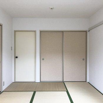 収納も和室に合うようにしてくれてます。粋だ、、※前回募集時の写真です