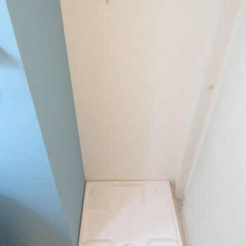 洗濯機置き場が