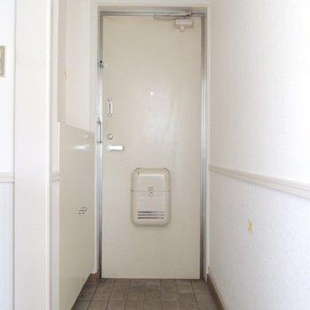 レトロな玄関