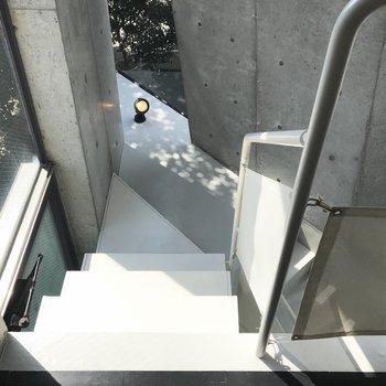 下の階に行きましょう〜
