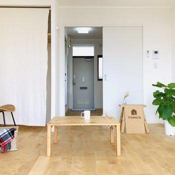 お好きな家具でお部屋を自分色に♪※写真はモデルルームです。