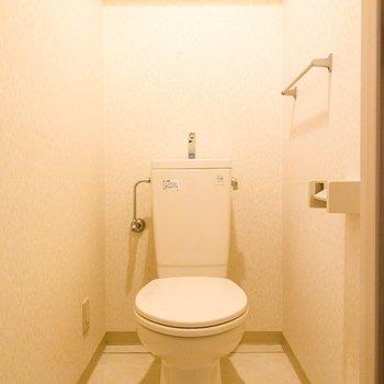 トイレはゆったりしています。