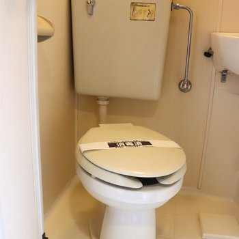 トイレとお風呂の3点ユニット