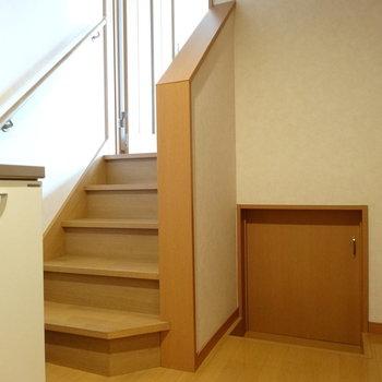 お部屋の中に階段が!