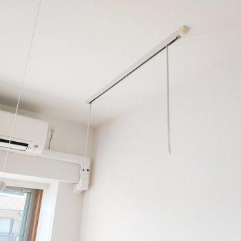 室内干しができる工夫もグッド◎※写真は通電前・3階の同間取り別部屋のものです