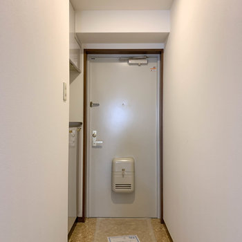玄関部分も、比較的ゆったりめ空間
