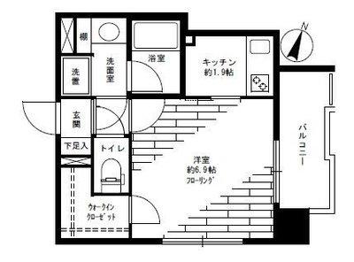 ネオマイム横浜阪東橋弐番館 の間取り