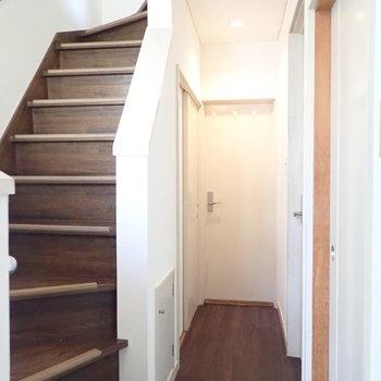 では2階へ。