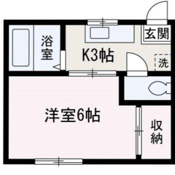 キッチンと居室は引き戸で仕切ることができます。
