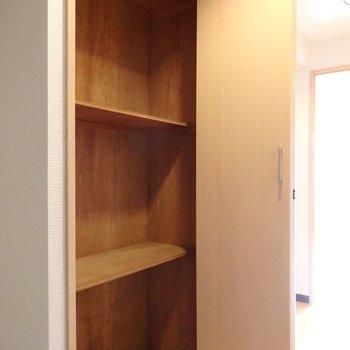 下駄箱的なクローゼットが廊下に付いています※写真は別部屋