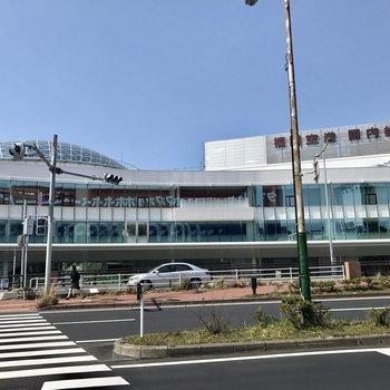 福岡空港国内線ターミナル。