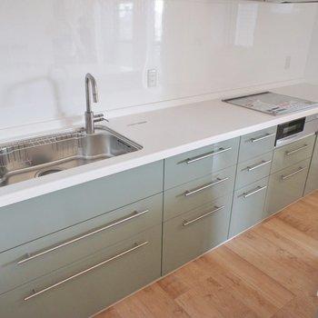 調理スペースもこの広さ。