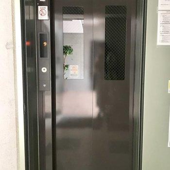 もちろんエレベーター付き。