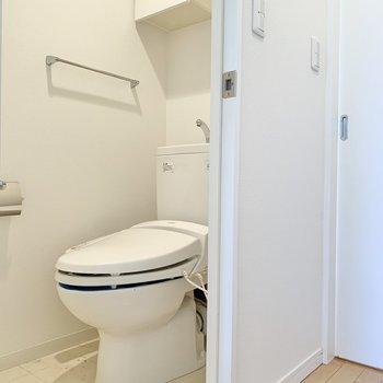 【洋室】トイレは洋室内にあります。
