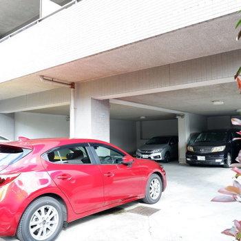 駐車場も整備されています。