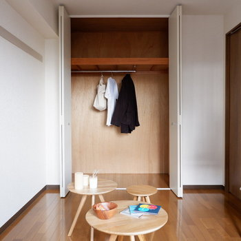 【洋室②】ここは寝室にしても、子供部屋にも◎※写真は4階の同間取り別部屋のものです