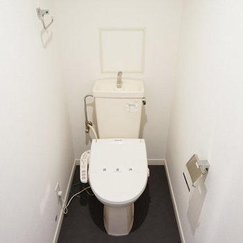 トイレにはウォシュレットも◎※前回募集時の写真です