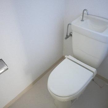 トイレはシンプルなもの