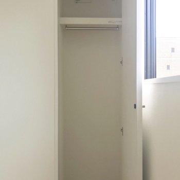 収納は少し物足りないかな?※写真は8階同間取り別部屋のものです