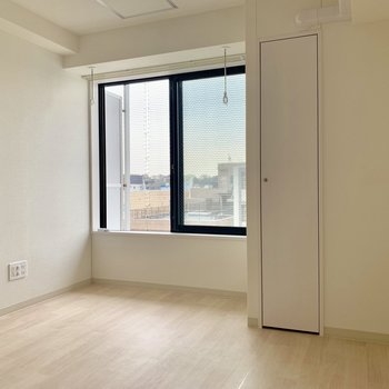 家具の配置もしやすそうです※写真は通電前のものです
