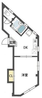 福島ビルの間取り図