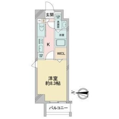 サムティ堀田通RESIDENCE の間取り
