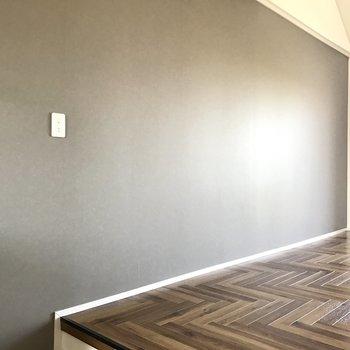 壁寄せで家具を置きやすい!