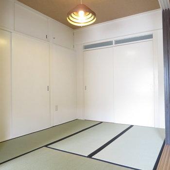 そして和室です
