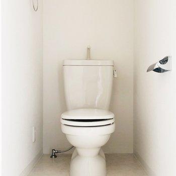 トイレも独立していて嬉しいですね
