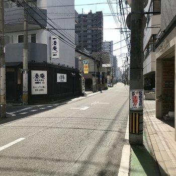 白金の街並み。お散歩しがいのある街♬