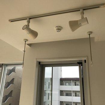 物干しはここに!スポットも便利。※写真は5階の同間取り別部屋のものです