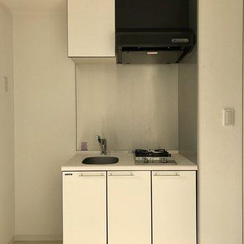 お部屋に合わせて白ベースで。※写真は5階の同間取り別部屋のものです