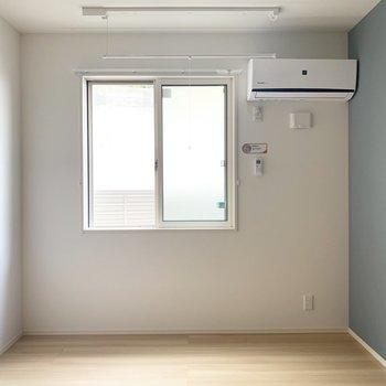 洋室は6帖あるので、寝室や趣味部屋に。