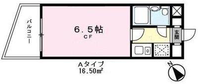 SANKO HEIGHTS OSAKIの間取り