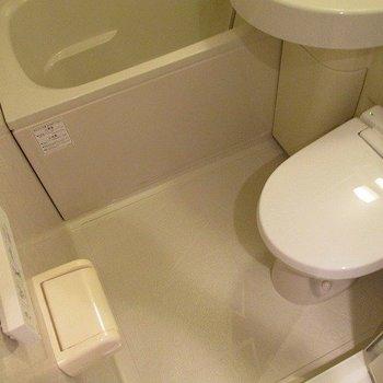 トイレも一緒です。※写真は2階の同間取り別部屋のものです