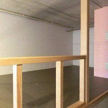 ロフトも広々スペース※写真は1階の同間取り別部屋のものです